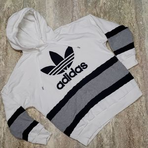 ADIDAS MENS SWEATER TYPE KNIT HOODIE SIZE XL